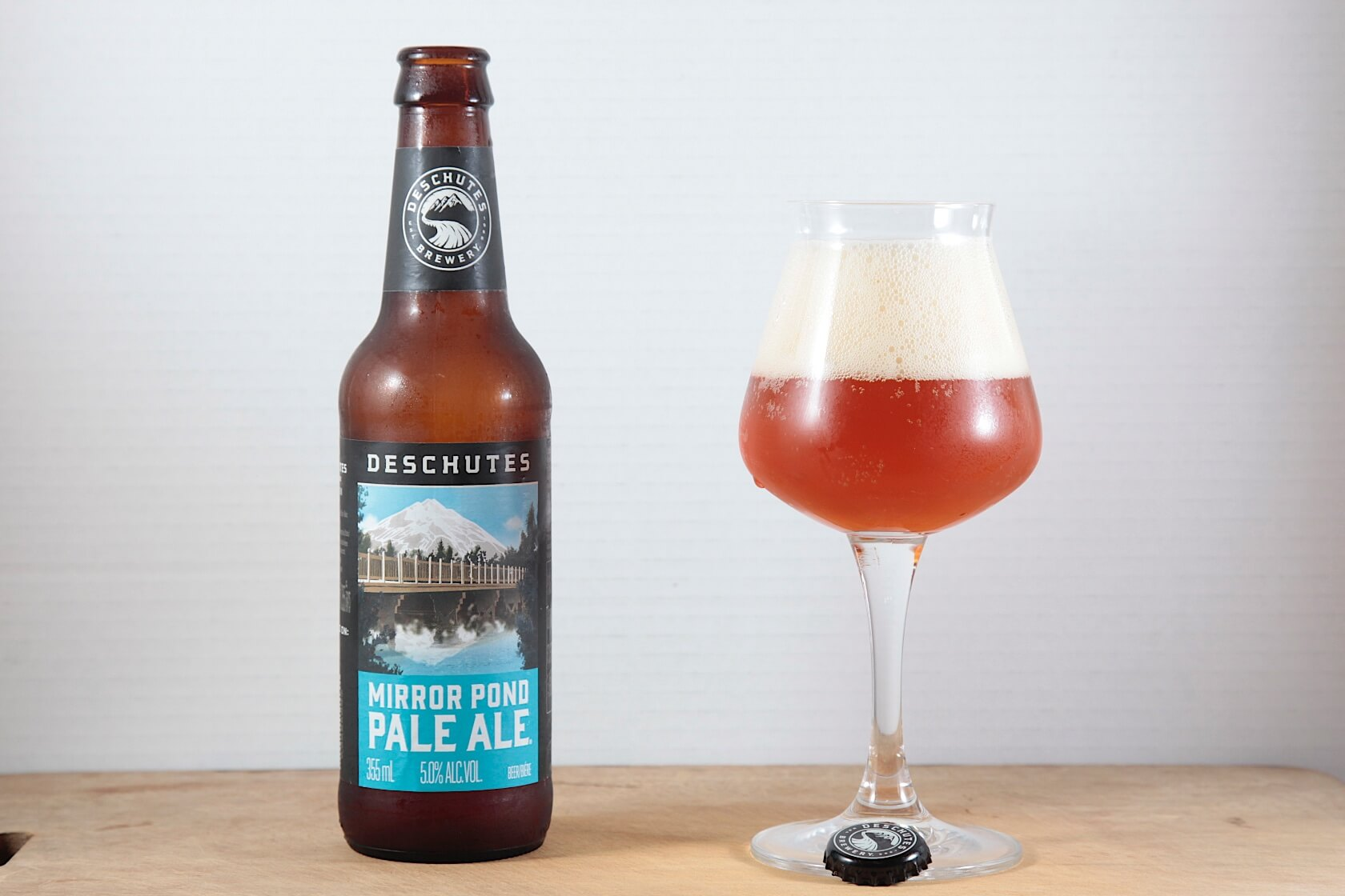 @Deschutes Mirror Pond Pale Ale