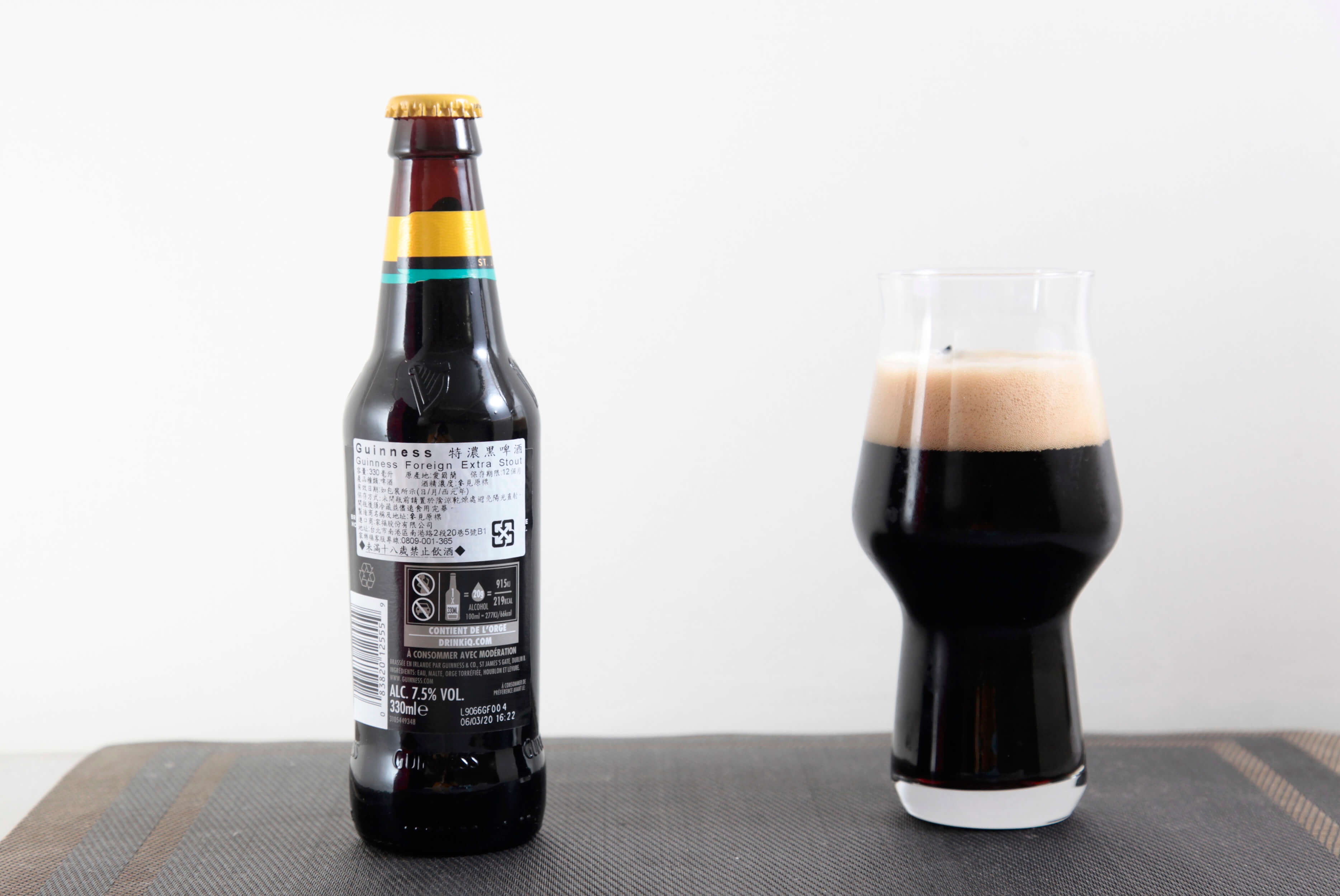 GUINESS | FOREIGN EXTRA STOUT